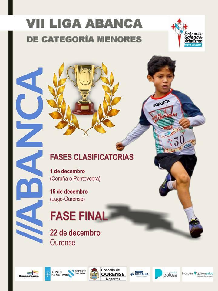 Atletismo: VII Liga Galega de Inverno de Categorías de Menores ABANCA – Fase Final @ Pista Cubierta de Expourense