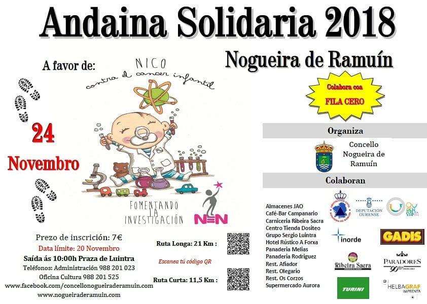 Andaina Solidaria Nogueira de Ramuín 2018 @ Luintra
