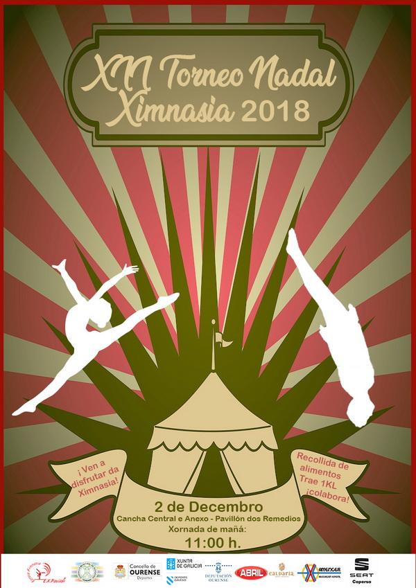 XII  Torneo de Nadal Ourense 2018 (rítmica y trampolín)