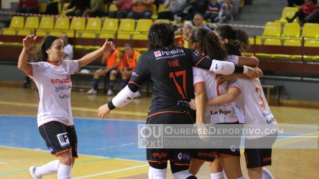 Ourense Envialia gana a Sala Zaragoza y se sitúa cuarto de la Primera División