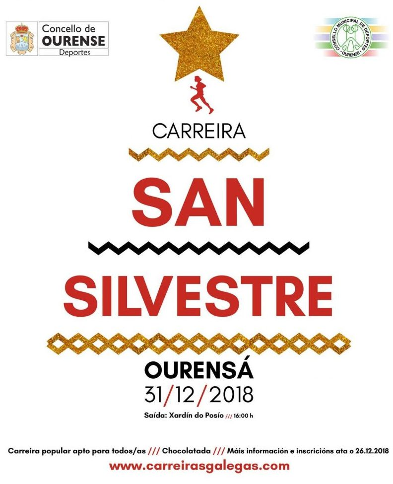 San silvestre ourensa ourense 2018