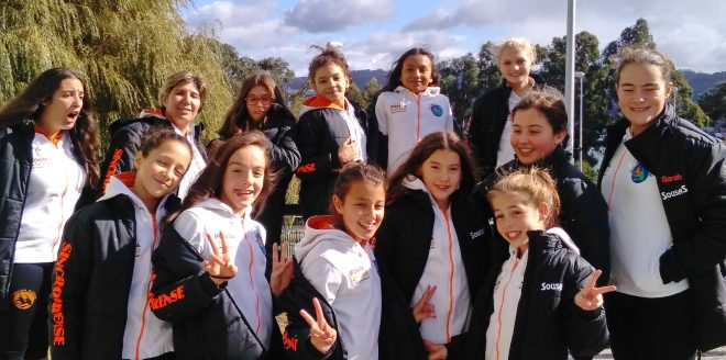 Sincro Ourense volvió a la competición con las jornadas de pase de Nivel