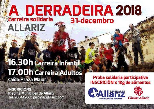 A Derradeira Allariz 2018 - Carreira solidaria @ Allariz | Orense | Galicia | España