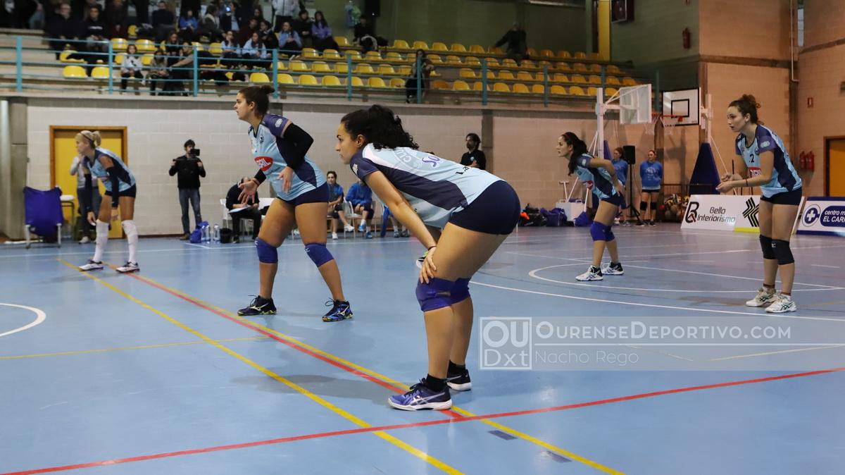 Aceites Abril Ourense Voleibol foto Nacho Rego