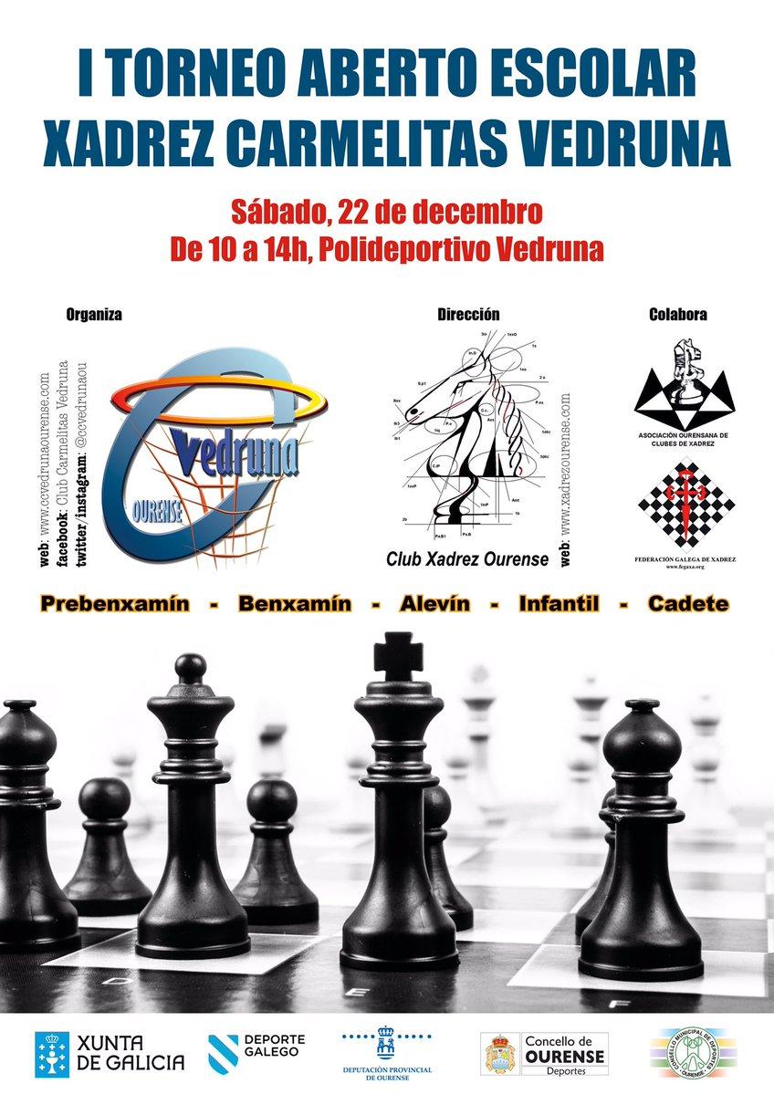 I Torneo Aberto Escolar Xadrez Carmelitas Vedruna @ Polideportivo Vedruna | Orense | Galicia | España