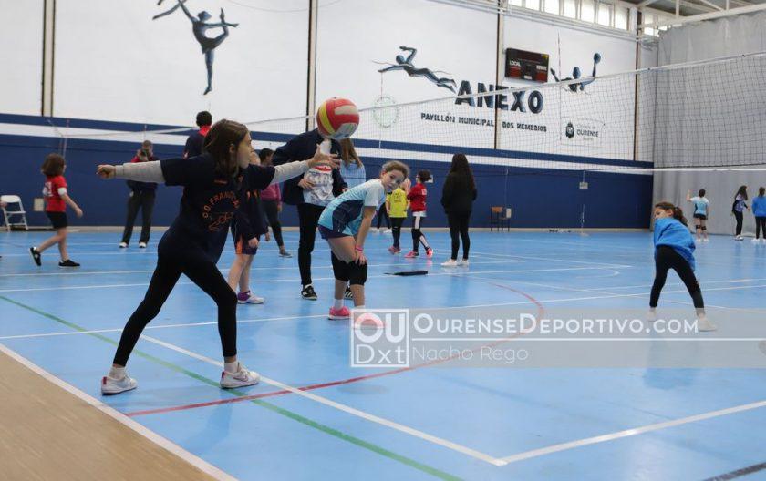 Voleibol Escolar Foto Nacho Rego