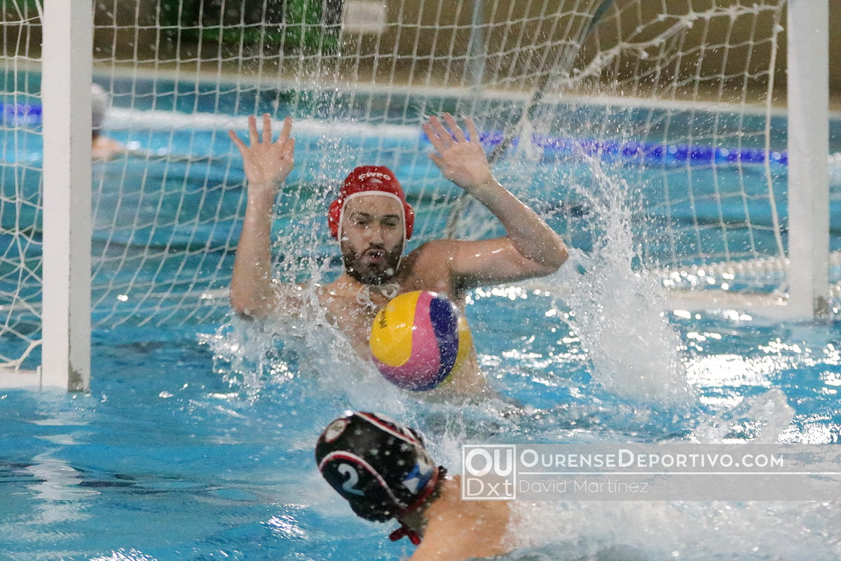 Waterpolo Pabellon Masculino foto David Martinez