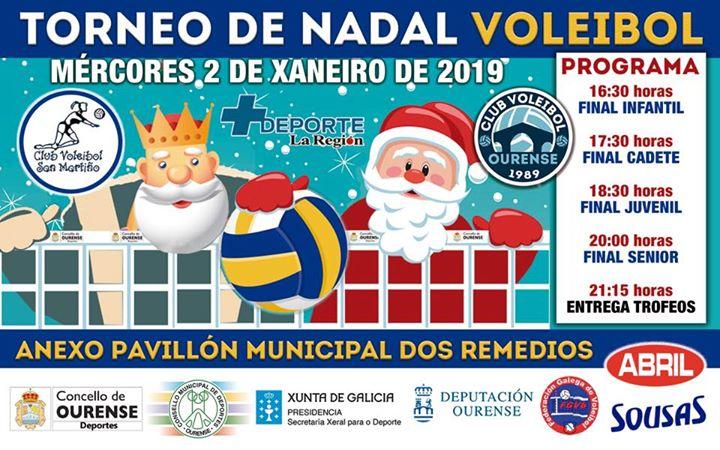 Torneo de Nadal de voleibol @ Anexo Os Remedios | Ourense | España