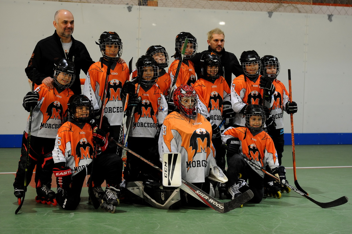 hockey liña: Morcegos-Rollers 27/01/19 -foto Rosa Veiga