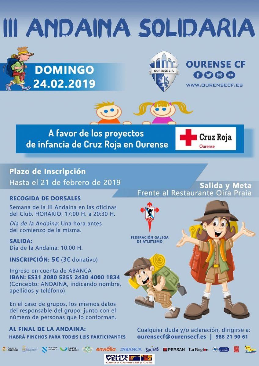 III Andaina Solidaria del Ourense CF @ Oira | Ourense | España