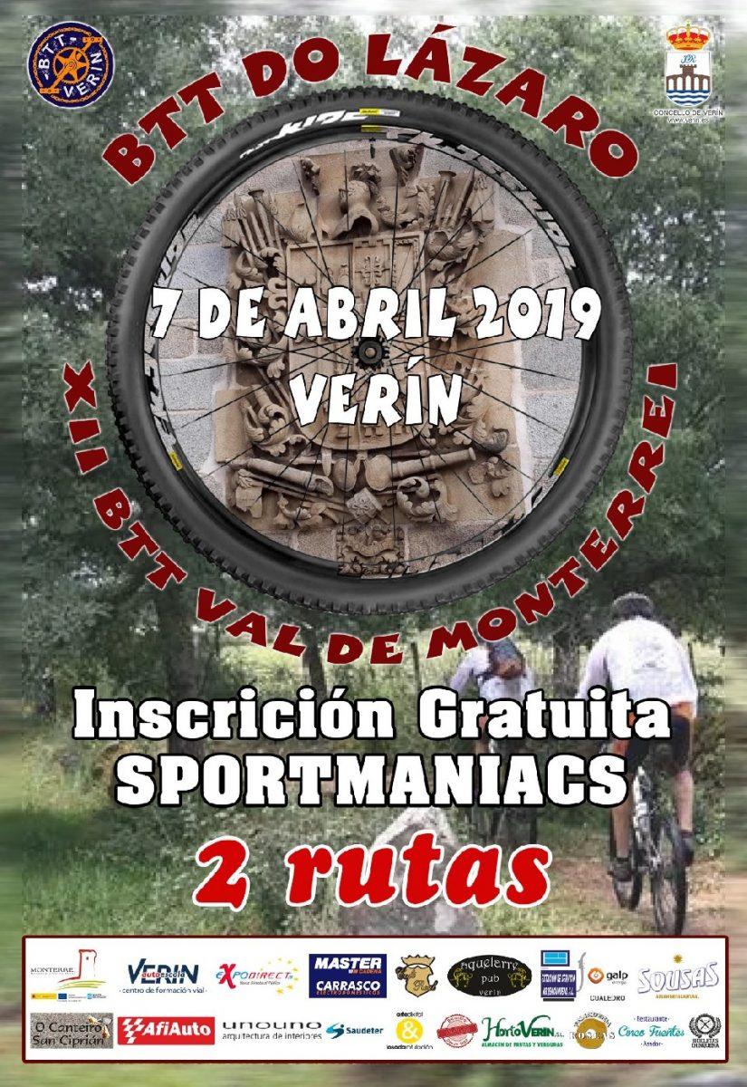 BTT do Lázaro - XII Marcha Val de Monterrei @ Verín | Verín | Galicia | España
