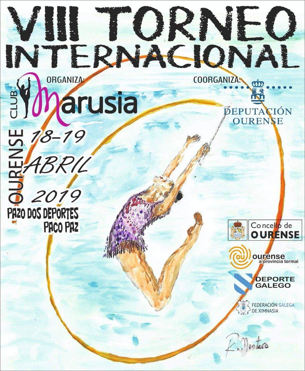 VII Torneo Internacional de Gimnasia Rítmica @ Pazo dos Deportes Paco Paz | Orense | Galicia | España