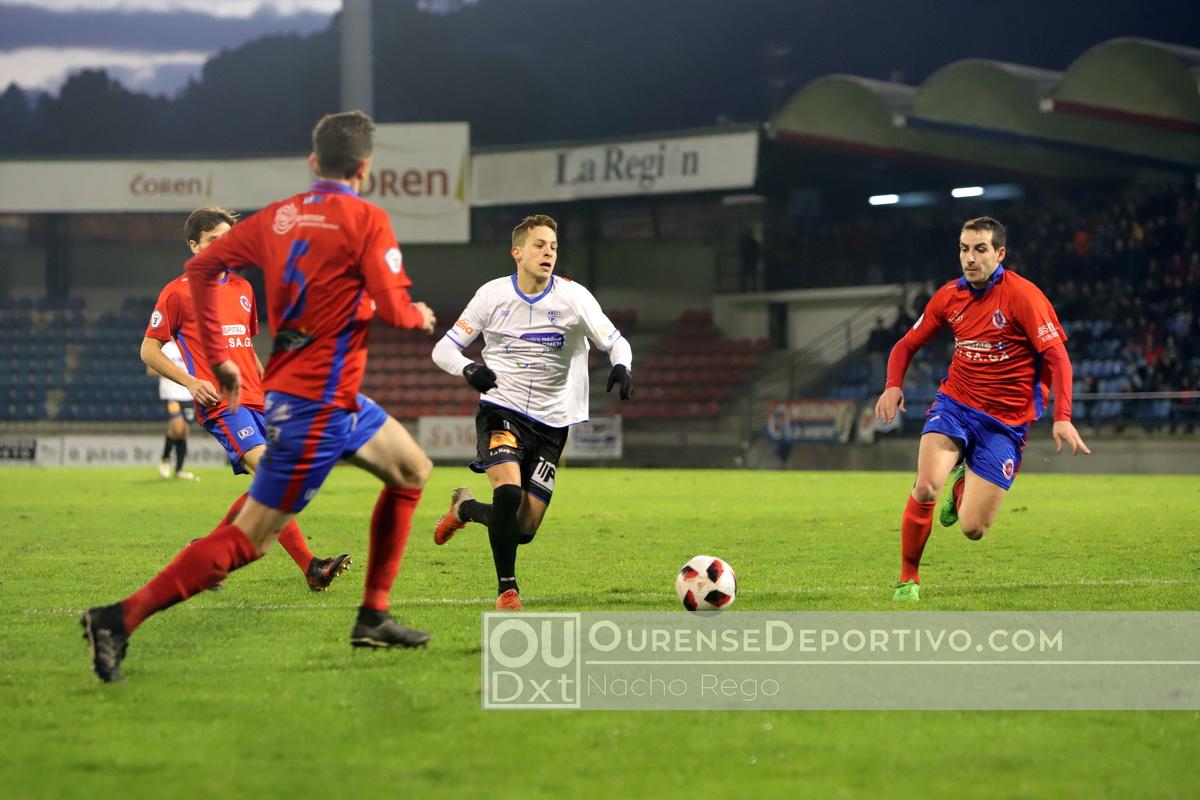 UDOurense OurenseCF Beceiro Foto Nacho Rego