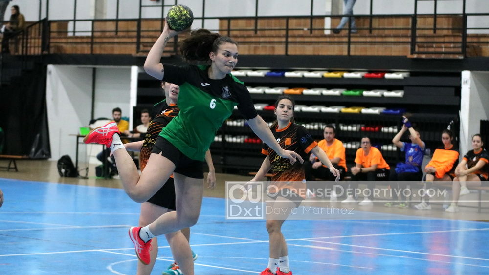 balonman pabellon senior femenino foto David Martinez