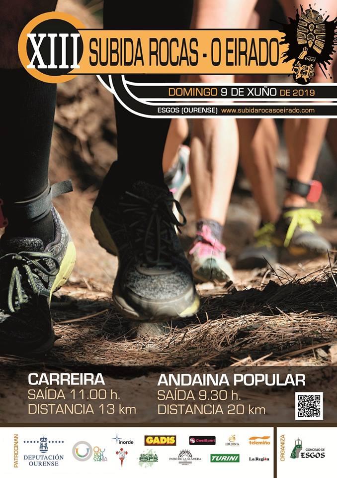 Subida Rocas - O Eirado e andaina popular do Concello de Esgos @ Esgos