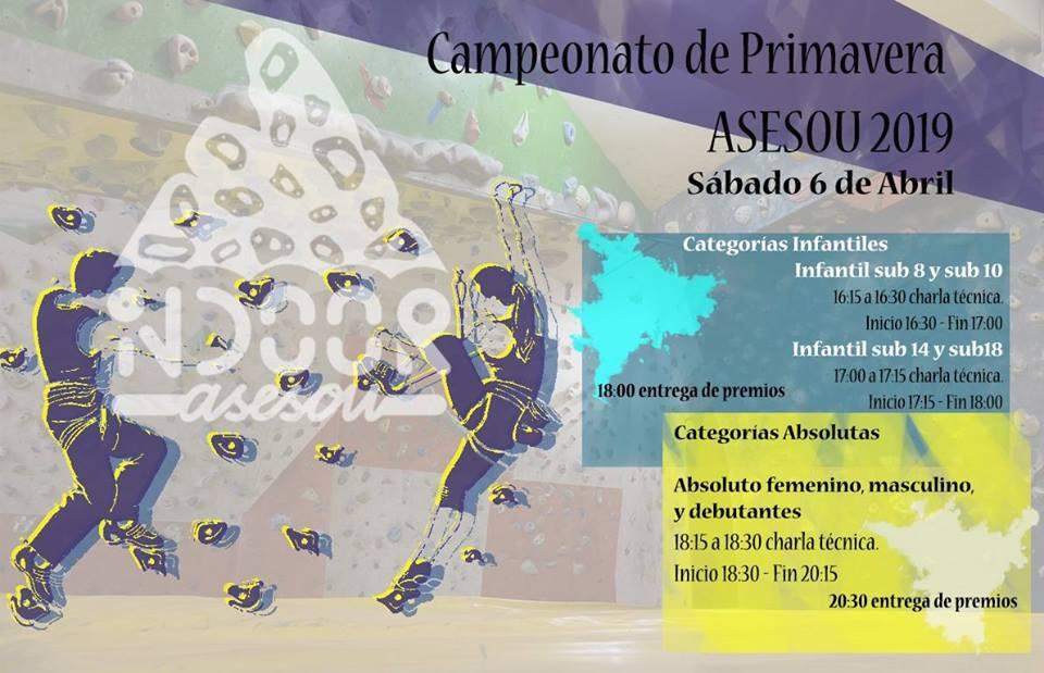 Competición de primavera de ASESOU 2019 @ ASESOU | Ourense | Galicia | España