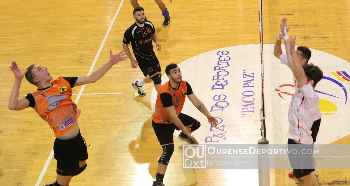 Vila Castro Voleibol Foto Nacho Rego