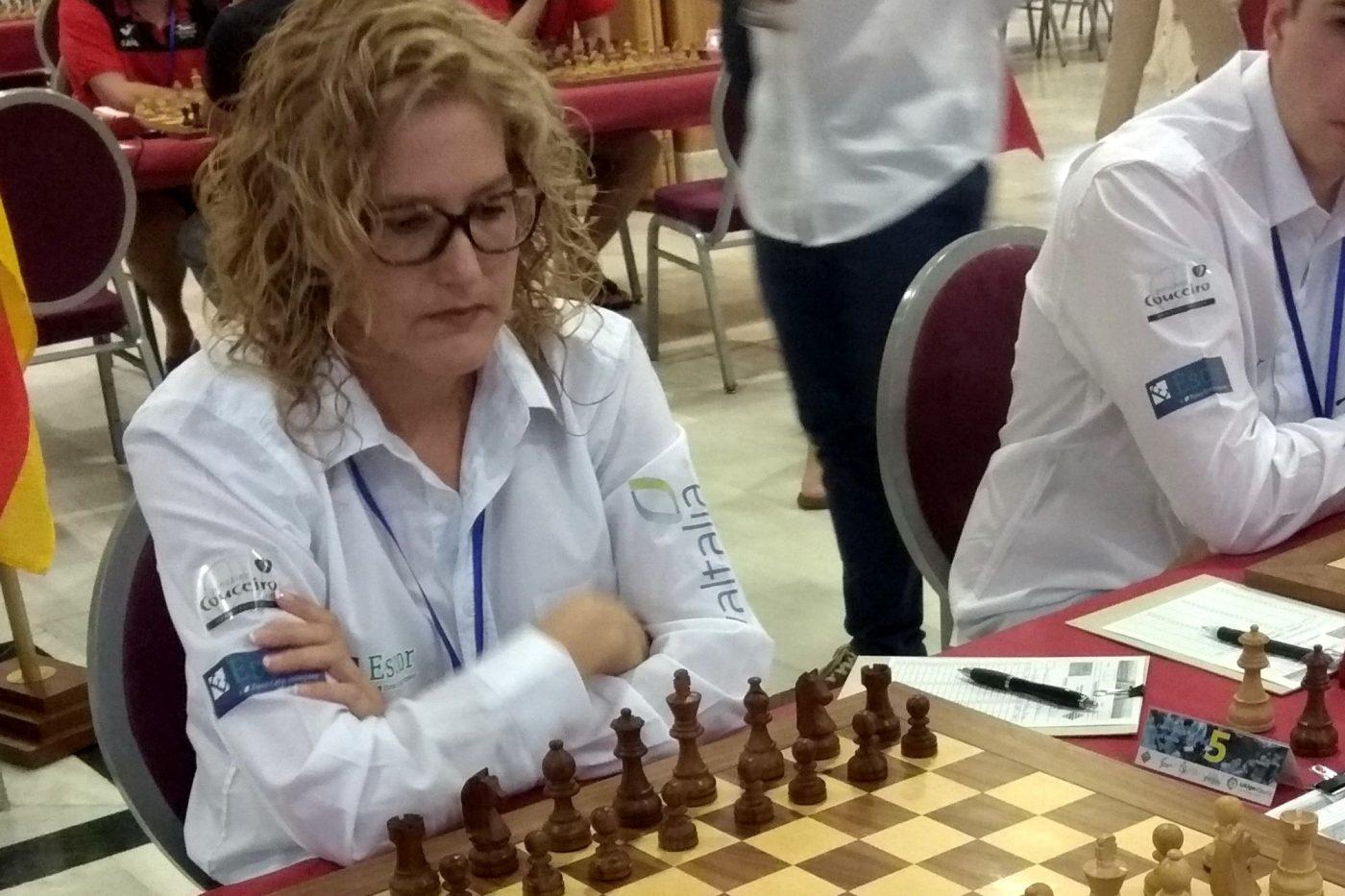 Yudania Hernández en el Europeo de Turquía