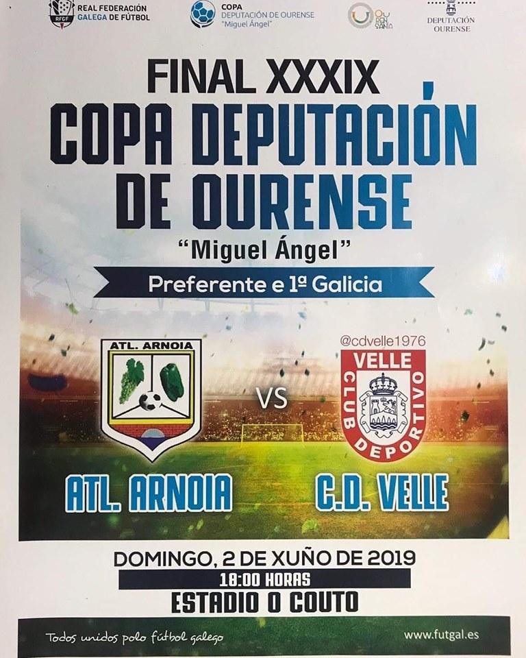 Final Copa Deputacion Futbol