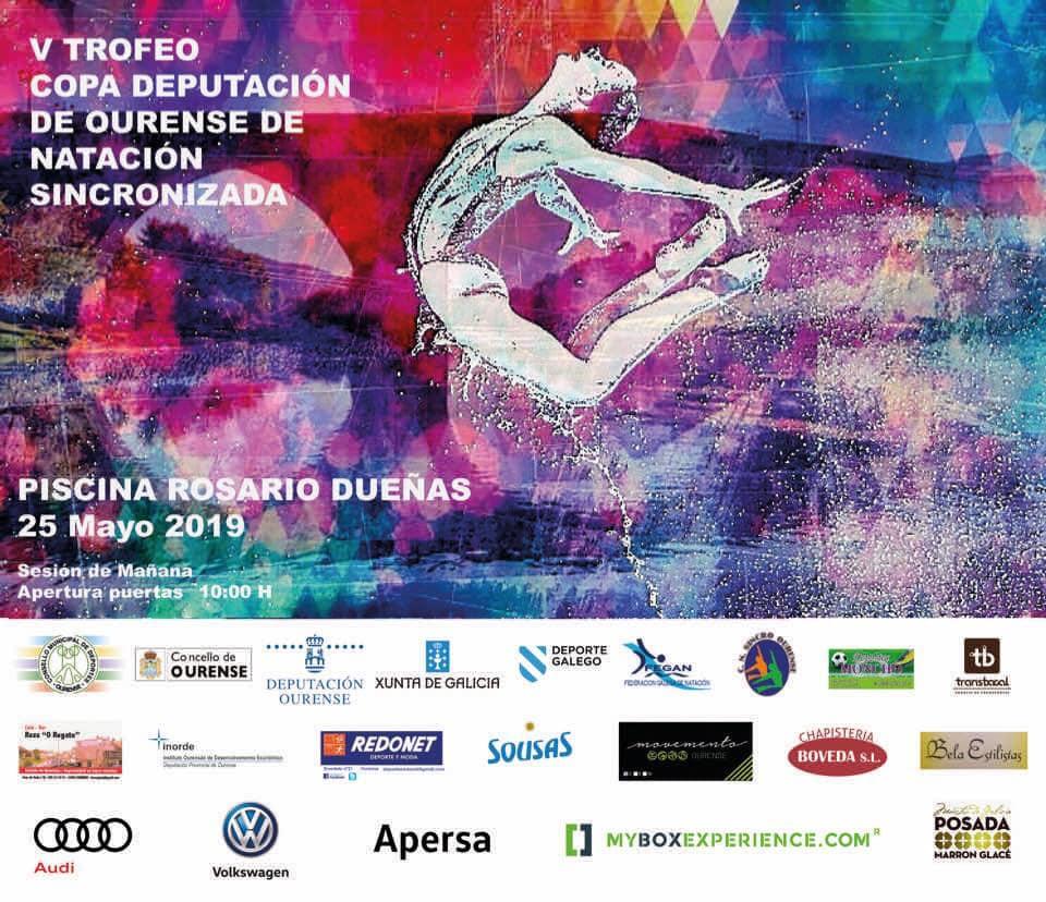 V Trofeo Copa Deputación de Ourense de Natación Artística @ Piscina Rosario Dueñas | Orense | Galicia | España