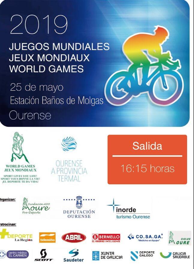 Ciclismo: Juegos Mundiales 2019 @ Baños de Molgas