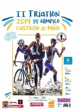 II Tríatlon Castrelo do Miño- Campionato Galego de Tríatlon Olímpico