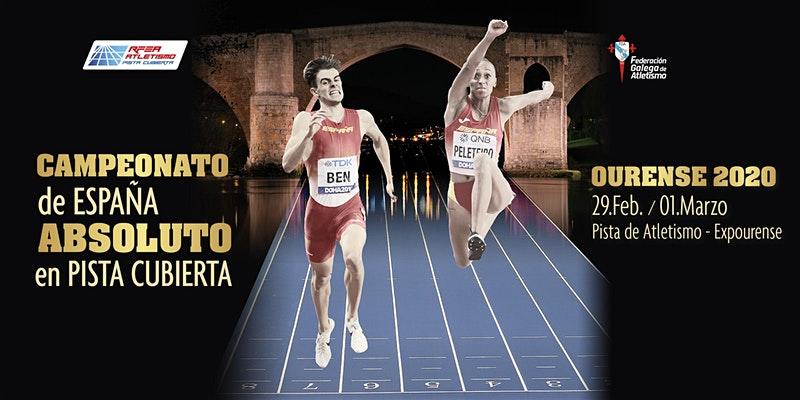 Campeonato de España Atletismo Expourense 2020