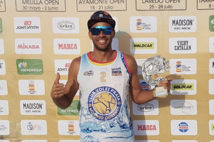 Hernan Tovar Sousas Volei Playa