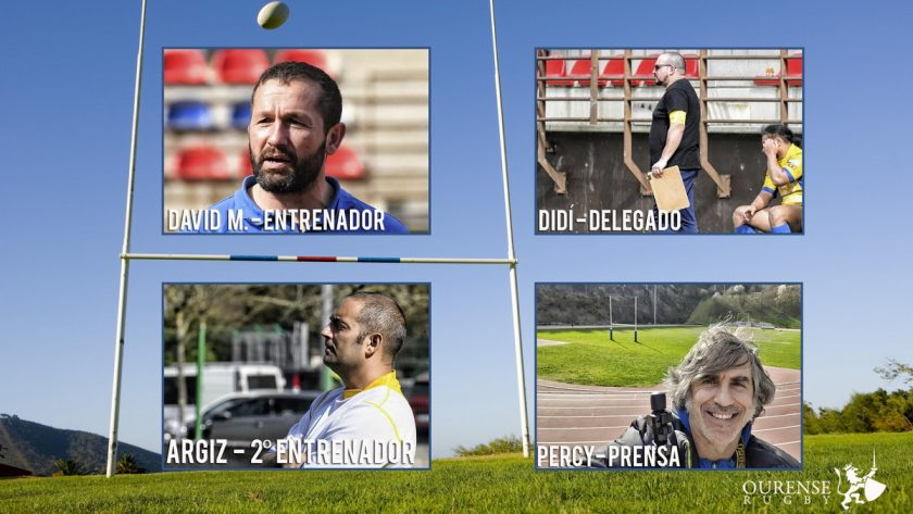 Ruby Ourense Cuerpo tecnico