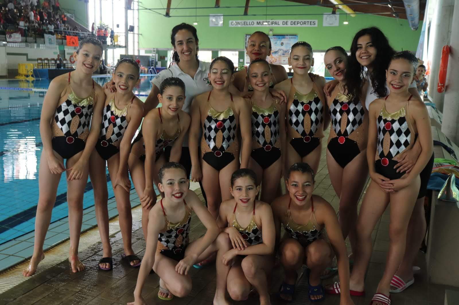 Sincro Ourense equipo alevín