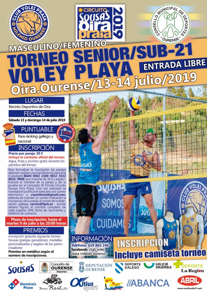 Torneo Senior/Sub21 Voley Playa