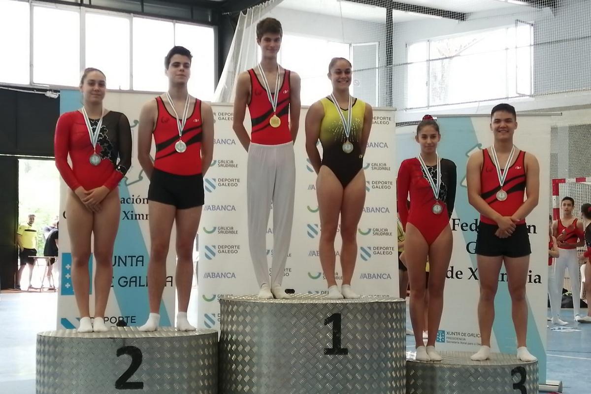 Ximnasia Pavillon podio elite