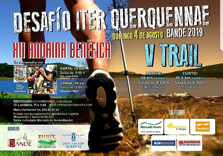 """XII Andaina e V Trail """"Concello de Bande"""""""