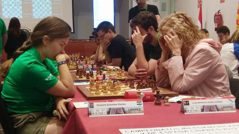 xadrez ourense primera division 2019