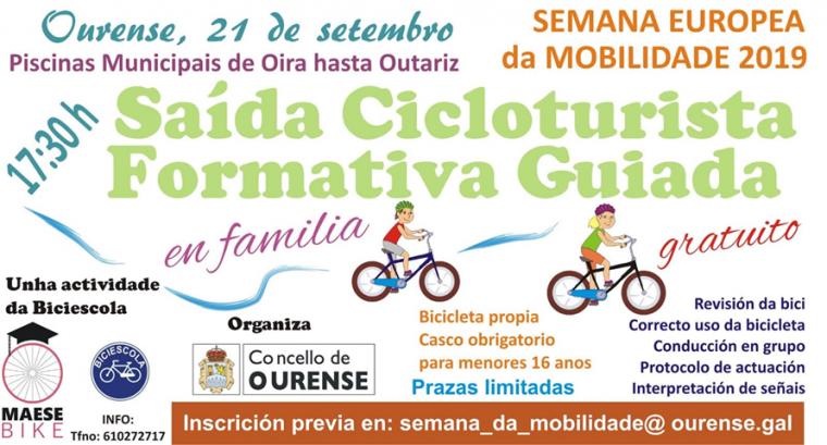 Saída Cicloturista Formativa Guiada (Oira-Outariz) @ Oira | Orense | Galicia | España