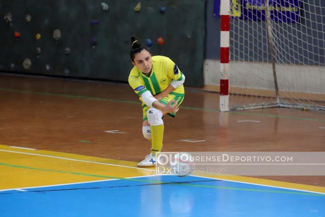 Un gol de Ana Lastra da el triunfo al Cidade en su choque frente al Zaloc Alacant