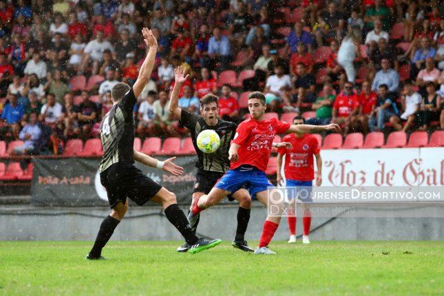 La U.D. Ourense cedió los primeros puntos en O Couto