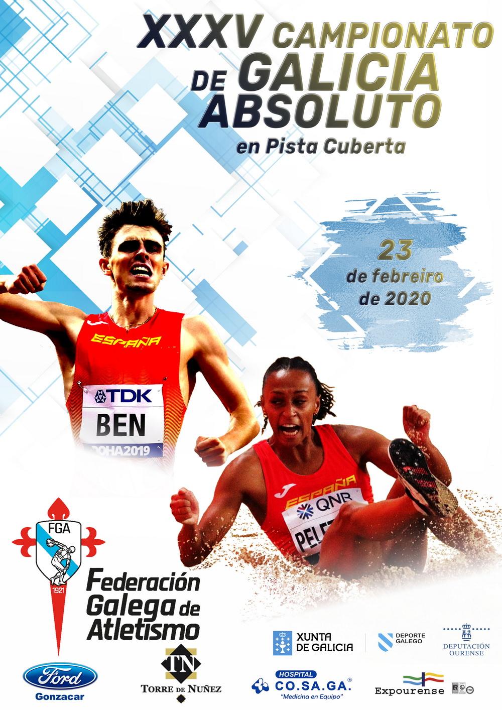 XXXV Campionato de Galicia Absoluto en Pista Cuberta @ Expourense | Ourense | Galicia | España