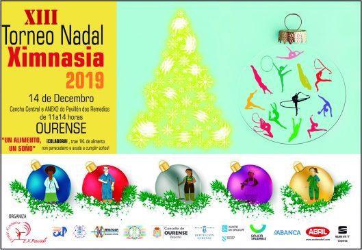 Os Remedios acolle este sábado o XIII Torneo Nadal de Ximnasia