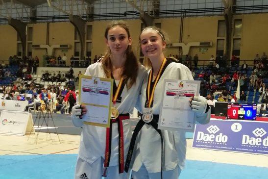Tres medallas para los taekwondistas del Club Couto en Alicante