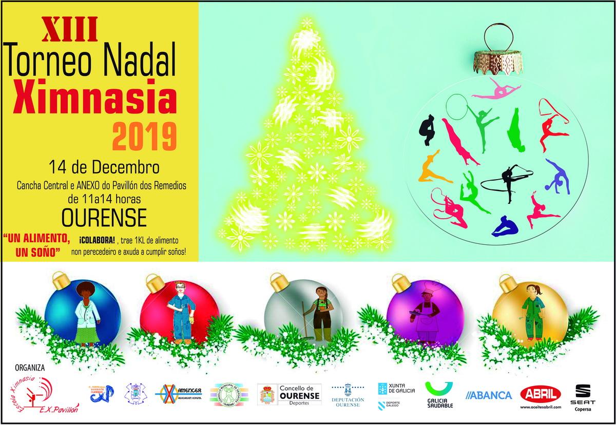 XIII Torneo Nadal de Ximnasia @ Pavillón de Os Remedios | Orense | Galicia | España