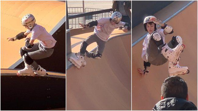 Buen papel ourensano en el Nacional de Roller Freestyle