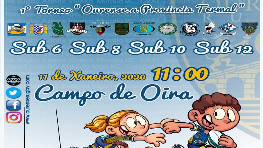 Campus Ourense Rugby Torneo Concentracion Oira 2020
