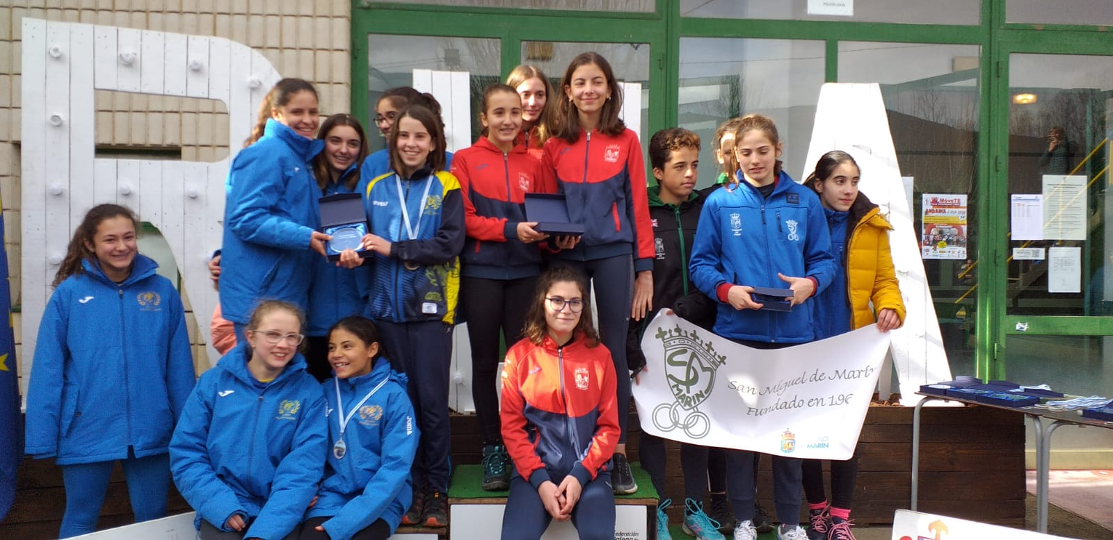 Gallego cross 2020 atletismo sub16