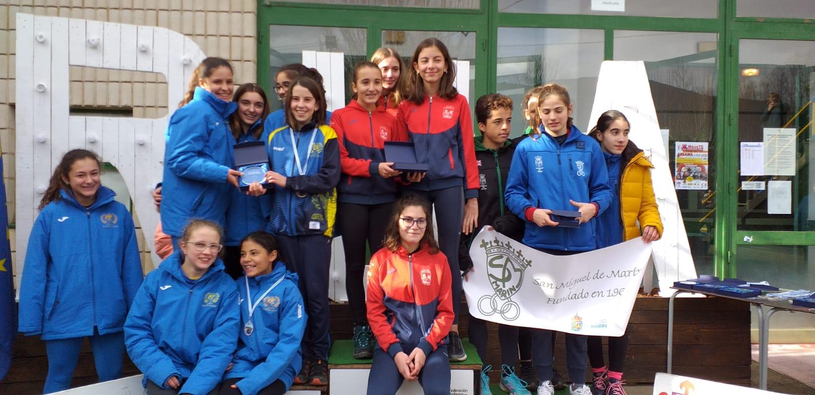 Gallego cross 2020 atletismo sub16