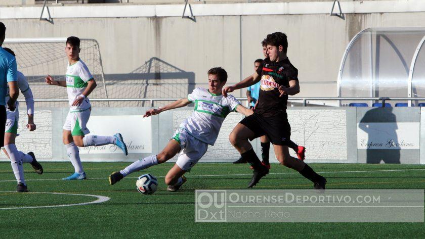 Pabellón CF Juvenil Foto Nacho Rego