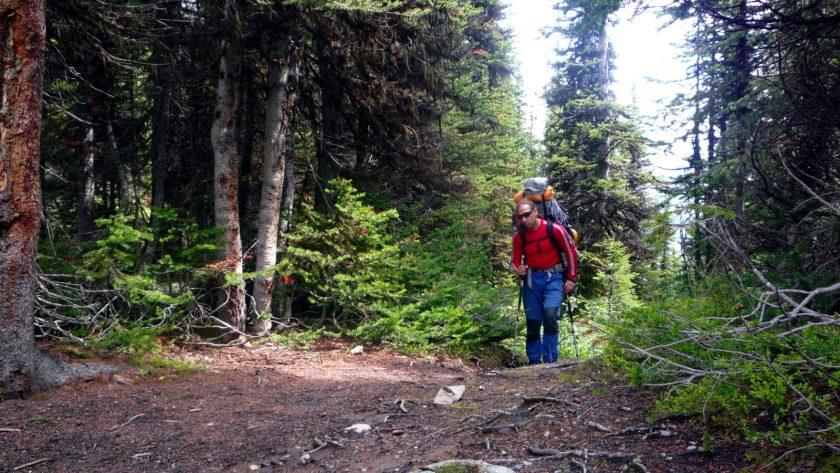 2008 Caminando Monte Asssiniboine, Rocosas del Canada