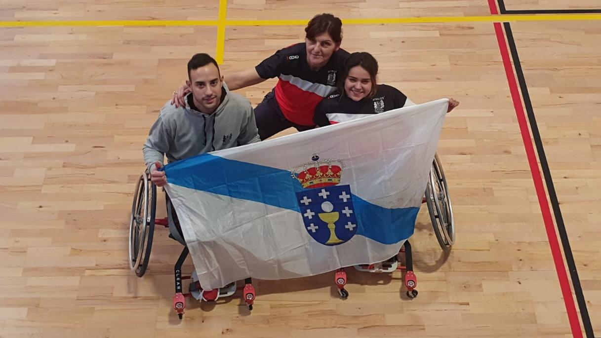 Ignacio Fernández y Mireia Hermida Nuria Fernandez badminton