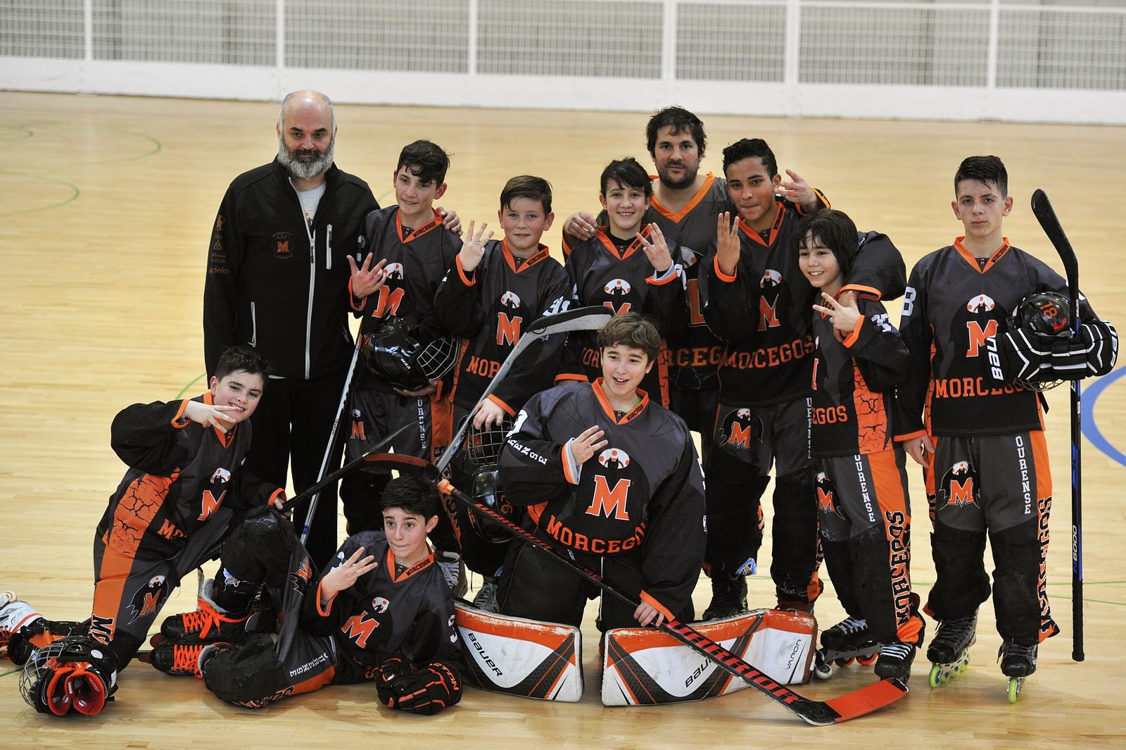 Morcegos Hockey Foto Rosa Veiga