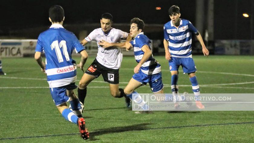Ourense CF Juvenil-Deportivo Foto David Martinez